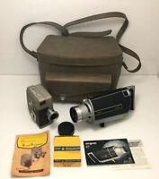 Vintage Argus Model 815 Super Eight Film Camera & Revere 80 Camera Rare Untested