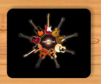 GUITARS MUSIC ADDICT INSTRUMENT MOUSE PAD -knj8Z