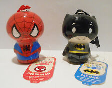 Spider Man Batman Itty Bittys Itty Bitty Xmas Hallmark Ornament Super Hero