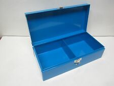 Metal Sorting Box 2 Compartment Storage 11 1/2 x 5 1/2 x 3 H