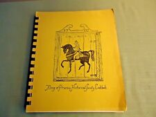 King Of Prussia Historical Society Spiral Cookbook Pennsylvania Early 1970's