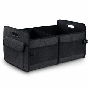 Kofferraumtasche Auto Organizer Kofferraum Aufbewahrungsbox Klett Tasche schwarz