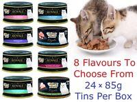 Fancy Feast Royale Bulk Carton Wet Cat Food 24 x 85g Various Flavours To Choose