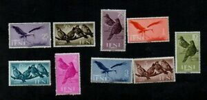 SPAIN. IFNI. 1960. BIRDS SET. L.H.M. GIBBONS cat no's 161-169.