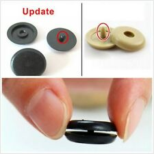 50x Clip Seat Belt Stopper Buckle Button Fastener Safety Car Truck Part Plastic