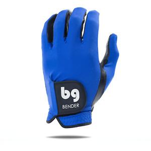 Blue Spandex Golf Glove