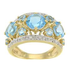 Topaz Yellow Gold 14k Fine Rings