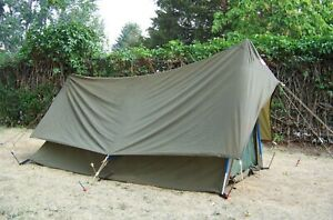 The North Face A-Frame Tuolumne Tent 1-2 Person  Army/OD Green & Blue  3 Season