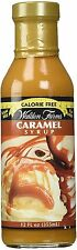 Walden Farms Calorie Free Natural Flavored Caramel Syrup - (6 Bottles)