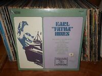 "Earl Hines-Earl ""Fatha"" Hines Lp, Still Sealed MINT Record & Jacket, Jazz Piano"