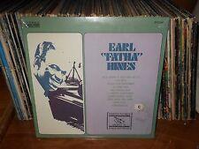 "Earl Hines-Earl ""Fatha"" Hines Lp, Still Sealed MINT Record & Jacket, Jazz Piano"