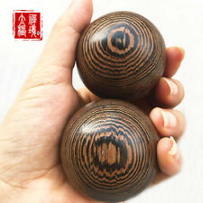 2PCS Wood Massage Ball Tai Chi Health Care Ball For Hand Massage Collectables