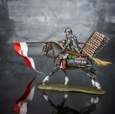 Winged Hussar Medieval Cavalry Knight 1/32 Hand Painted Toy Soldiers Rider