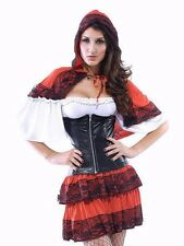 Little Red Riding Hood Sexy Naughty Wolf Fairytale Grimm Halloween Costume 8553