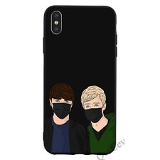 Sam y Colby Funda iPhone 5 6 6S 7 8 + X Xr XS 11 Pro Max SE 2nd Gen