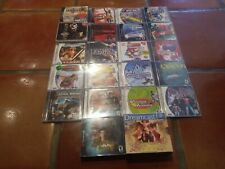 LOT 23 Dreamcast games in original cases with instruction booklets