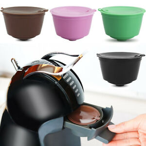 Refillable For Dolce Gusto Nescafe Capsule Reusable Pods Coffee Filter Cup 2DAA