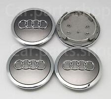 4x 69mm Audi Wheel Center Cap Emblem Cover Hub S3 A3 A4 A6 A8 TT Q5 4B0 601 170A