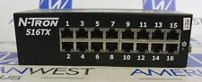 N-TRON 516TX ETHERNET SWITCH  - USED