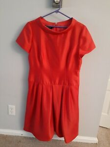 Teri Jon  by rickie Freeman dress 12 Orange