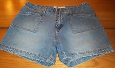 HYDRAULIC blue denim casual shorts size 7/8 7 8 W31 L4.5 rise 9.5