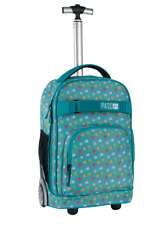 YOUTH School Bag TROLLEY Backpack on wheels wheeled bag 46x31,5x 19 cm NEW