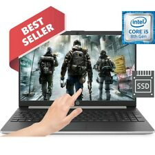 "Powerful 12GB HP 15.6"" Intel Core i5 3.90GHz 256GB SSD Drive TOUCHSCREEN Laptop"