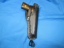 Western Style Leather Holster for Browning Buckmark .22 LR