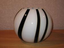 *NEW* Lampe zèbre forme boule H.21cm