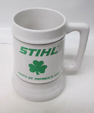 NEW OEM STIHL ST. PATRICKS DAY STEIN LIMITED EDITION FAST SHIP 28 OZ MUG