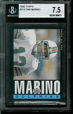 1985 Topps. Dan Marino. BGS 7.5.