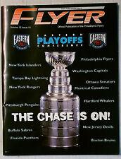 PHILDELPHIA FLYER PLAYOFF PROGRAM SOUVENIR MAGAZINE 1995 1996 NHL