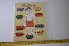 Nuevos niños Body Board Juguete Educativo Rompecabezas De Madera
