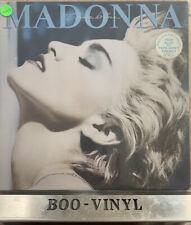 TRUE BLUE - MADONNA VINYL LP RECORD ALBUM 33rpm ORIGINAL RELEASE 1986 Ex Con