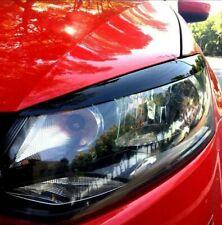 VW POLO MK5 Eyebrow Eyebrows Eyelid Trim Black Headlight Cover 2011-17