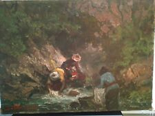 SOEDJONO ABDULLAH -  Indonesian Original Signed Oil Painting