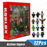 12Pcs For Roblox Classic Game Series Character Action Figures for Gift Kids Toys