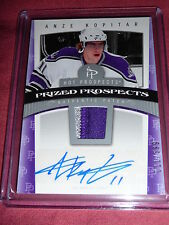 06-07 Hot Prospects Anze Kopitar Auto 2CLR Patch RC 11/599 His Jersey# * 1/1 *