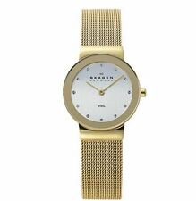 Skagen 358SGGD Ladies Watch Gold Tone Mesh 26mm Case, 3 ATM RRP $195