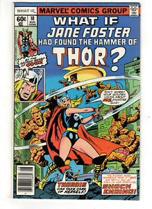 WHAT IF? #10 (1978) - GRADE 8.5 - 1ST APPEARANCE OF JANE FOSTER AS THOR!