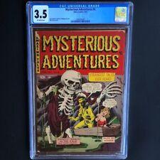 Mysterious Adventures #6 (Story 1952) 💥 CGC 3.5 💥 Pre-Code Horror Walking Dead