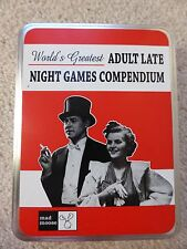 World's Greatest Adult Late Night Games Compendium Fun Party