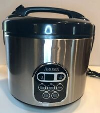 Aroma Rice Cooker And Food Steamer 20 Cup Digital ARC-150SB Instruction Manual