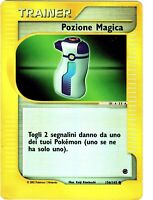 POKEMON POZIONE MAGICA 156/165 COMUNE REVERSE HOLO EXPEDITION