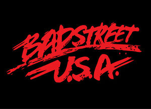 BADSTREET USA shirt Fabulous Freebirds 80s Wrestling WCCW U.S.A. Hayes Gordy