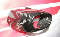 Honda CBR Fireblade SC57 SC 57 04-07 Carbon Auspuff Hitzeschutz Heck 46644922