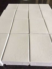 WHOLESALE JOBLOT 100 WHITE CARDBOARD JEWELLERY GIFT BOXES PENDANT EARRING,