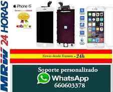 """Pantalla iPhone 6 de 4,7"""" Completa, LCD Táctil BLANCO BLANCA + CRISTAL TEMPLADO"""