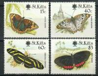 Saint Kitts Stamp - Butterflies with Expo 90 Emblem Stamp - NH
