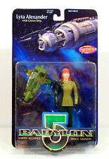 BABYLON 5 VARIANT LYTA ALEXANDER IN GLOVES 6 INCH FIGURE PREVIEWS EXCLUSIVE 1997